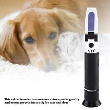Clinical Refractometer Scale Serum Protein/ Urine Specific Gravity Veterinary