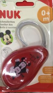 NUK DISNEY MICKEY SOOTHER BOX PACIFIER CASE
