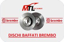 KIT 2 DISCHI BAFFATI ANTERIORI RENAULT CLIO II BB0/1/2_,CB0/1/2 DAL 2000 AL 2018