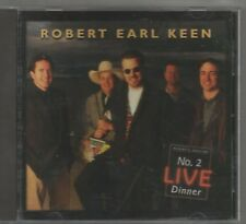 RARE ROBERT EARL KEEN CD NO 2 LIVE DINNER SUGAR HILL 1996 MINT WITH PROMO HOLE