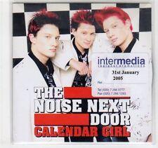 (EC226) The Noise Next Door, Calendar Girl - 2005 DJ CD