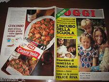 RIVISTA OGGI 1969/42=ABA CERCATO=FRANCO NERO=AZNAVOUR=WALTER CHIARI=LUCIA BOSE'=