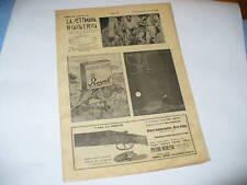 RIVISTA LA SETTIMANA DI CACCIA E PESCA N. 32 1937