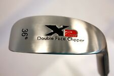 """BIG TALL +1"""" XL DOUBLE SIDED FACE RIGHT & LEFT HANDED CHIPPER 36 DEG WEDGE CLUB"""