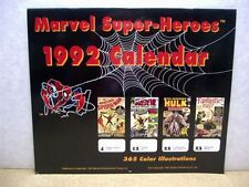 Marvel super heroes Calendar 1992 (365 covers) (usa)
