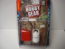 Hobby Gear- AXE, JERRY CAN, PROPANE SET - 1/10 Rock Crawler- AXIAL/AX10/SC10