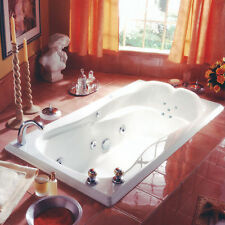 NEPTUNE MELIA MODERN 66x34 DROP-IN TUB WITH WHIRLPOOL SYSTEM