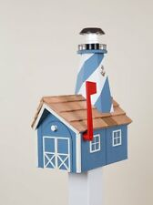 Amish Crafted Solar Powered Lighthouse Mailbox - Lancaster, PA