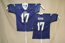 Philip Rivers LOS ANGELES CHARGERS  Reebok  JERSEY   Medium   NWT   navy