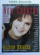 NEW COUNTRY MAGAZINE - April 1995 - Alison Krauss / Radney Foster / Tanya Tucker