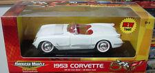 1:18 Ertl American Muscle White 1953 Corvette Item 36833