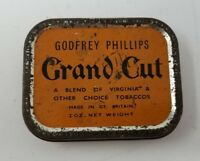 Godfrey Phillips Grand Cut Blend of Virginia Tobacco Tin