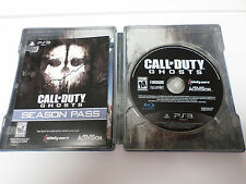 PS3 Call of Duty Ghosts Game with SteelBook and Season Pass - BRAND NEW