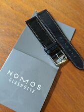 Nomos Glashutte Handmade Shell Cordovan Leather Watch Strap / Band - 19mm