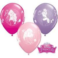 "Qualatex Disney Princess Cameos 11"" Latex Balloons Birthday Party Event Decor"