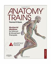 Anatomy Trains: Myofascial Meridians for Manual and Movement Th... Free Shipping