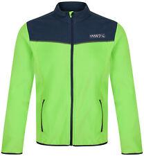 Mens Fleece Zipped Jacket New Soft Warm Full Zip Through Top Jumper Sweater Coat