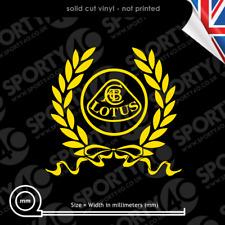 Lotus CABC Wreath Vinyl Decal Sticker SMALL Lotus Team Racing 4811-1220