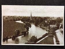 RP Vintage Postcard Warks #28 - River &Holy Trinity Church, Stratford-Upon-Avon
