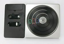 DJ HERO Game and Turntable/Controller Sony PS2 No Dongle Tested EUC