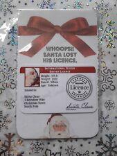 Licencia De Navidad Santa Claus creer Magic Trineo Ride