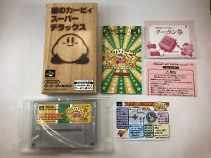 Kirby Super Deluxe; Super Famicom; Japan Import