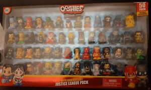 DC Justice League 60th Anniversary Ooshies 50 Pack Includes 20 Exclusive Figures
