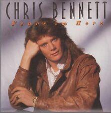 """7"""" Chris Bennett Feuer im Herz / Prinzessin 90`s Bellaphon"""