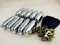 10 Double End Tom / Snare Drum Lugs with Mounting Screws