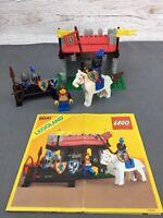 Vintage Lego Castle-Lion Knights (1986) ~ Set 6041 ~ Armor Shop ~ 100% Complete