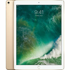 "Apple 12.9"" iPad Pro Mid 2017 512GB, Wi-Fi + 4G LTE, Gold Tablet Computer Combo"