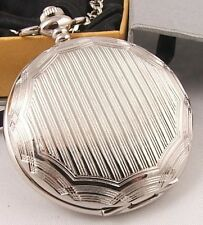 LOOOOOK! Great Groomsman Wedding Gift SP Pocket Watch 2
