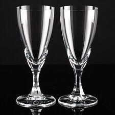 2 Sektgläser SCHOTT ZWIESEL Neckar Sektglas Sektkelch schlicht klar Glas