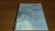 Olympus Fe-170 Cámara Digital Manual de instrucciones impreso Guía de usuario 76 páginas A5