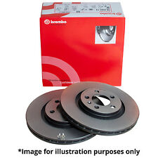 GENUINE BREMBO INTERNALLY VENTED REAR AXLE BRAKE DISCS 09.A056.11 - Ø 330 mm