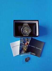 Citizen Men's Satellite Wave World Time CC3005-85E F150 44mm GPS Watch