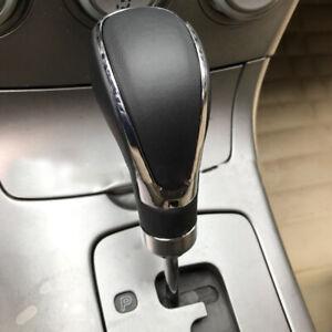 1pcs Leather Universal Car Gear Stick Shift Knob Shifter Lever Head Accessories