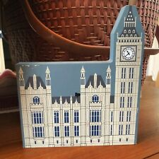 Htf 1995 Cat's / Cats Meow Village House Of Parliament London Series