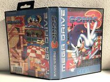 Caratula Sonic 3 Repro Sega Mega Drive