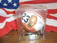 1995-96 MICHAEL JORDAN Mini Basketball with Replica Autograph COA Chicago Bulls