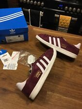 MENS RARE MAROON ADIDAS GAZELLE OG SIZE 7 GREAT USED CONDITION!!!