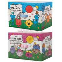 NEW Mr Men & Little Miss Complete Libraries Books Entire Collections Boxed Sets!