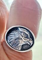 Retired James Avery Freedom Eagle Ring Sterling Silver NEAT!