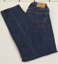 Abercrombie & Fitch Men's Button Fly Skinny Jeans Dark Wash Size 29/30