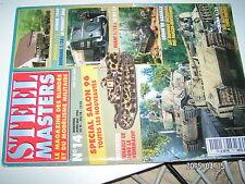 ** STEEL MASTERS n°14 Marquages véhicules Britannique 44/45 / Le hetzer présérie
