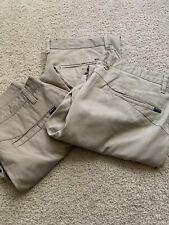 Lot Of 3 Men's Pants Volcom Billabong Size 34