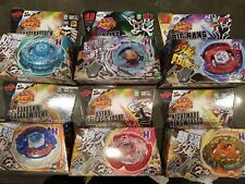 6 PCS Beyblade 4D Fusion Top Metal Master Rapidity Fight Launcher HOT!
