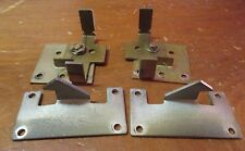 Rowe Ami Mm-5 Mm5 45 Record Jukebox Cabinet Door Latches & Hooks, Guc