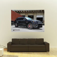 Poster of Jeep Grand Cherokee SRT8 on Strasse Wheels Giant HD Huge 54x36 Print
