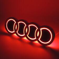 Illuminated 5D LED Car Tail Logo Light For Audi Q5 A1 Badge Emblem Light Red